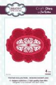 Sue Wilson Craft Dies - Festive Collection - Deboss Snowflake - CED3023